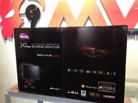 New BenQ XL2411Z 144hz 1ms 3D High End Gaming Monitor TV