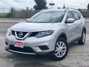 2015 Nissan Rogue S AWD|BACKUP CAMERA|ACCIDENT FREE