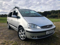 FORD GALAXY 2005 05 PLATE 1.9TDI ( 115PS ) AUTO.5MY GHIA FULL SERVICE HISTORY