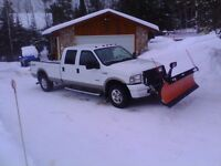 Low KMS 2005 Ford F-250 Lariat with Arctic Plow