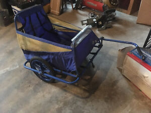 Bicycle trailer cart