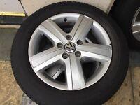 VW Thunder Alloy Wheels 17 inch