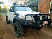 2012 toyota hilux SR 4x4 Chambers Flat Logan Area Preview