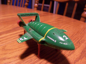 "Metal ""Thunderbirds"" Space Craft 6in by 4in Made By Matchbox"