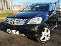 2008 Mercedes-Benz ML320 3.0TD CDI 7 G-Tronic Sport - One Owner - KMT Cars