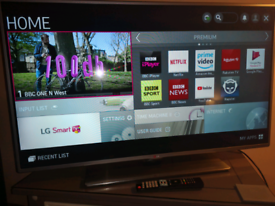 """47"""" LG smart TV with remote control """"30 day warranty"""""""