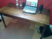Executive Oak Desk