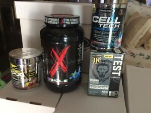 Nutritional Supplement lot and free item $120 OBO