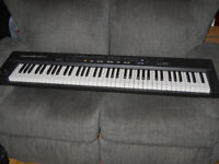 Roland A-30 76 note midi controller Keyboard