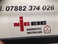 NICEIS Registered Electrician - Domestic Installer. Covering the Greater Manchester area