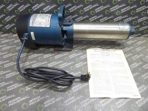 NEW Flint & Walling PB5 Booster Pump 5 GPM 1/2HP 3450RPM 1.6SF 56J Frame 1 Phase