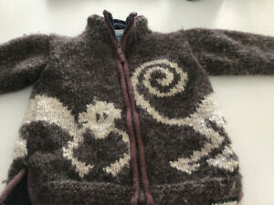 Child's outdoor sweater