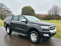 2017 Ford Ranger 2.2 TDCi Limited 1 Double Cab Pickup Auto 4WD 4dr Pickup Diesel