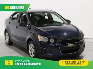 2016 Chevrolet Sonic LS AUTOMATIQUE A/C BLUETOOTH