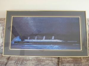 "Titanic Print ""A Night To Remember"