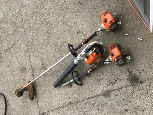 Whipper, combi head and blower package