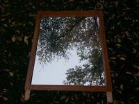 Nice framed mirror (#003)