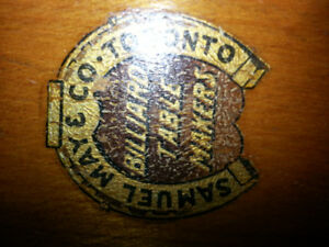 WANTED SAMUEL  MAY BILLIARD COMPANY ITEMS