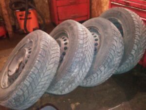 195/65R/15s with rims