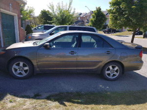 2004 Toyota Camry - Manual  $3000 OBO