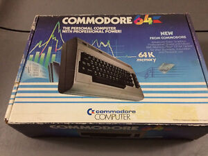 Vintage Commadore 64 complete with box