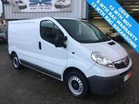 2013 13 VAUXHALL VIVARO 2.0 2700 CDTI SWB LOW ROOF 6 SPEED 1 OWNER FULL SERVICE