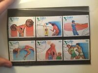 Cuba Sports Stamps Set. Stamp collection
