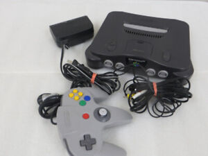 Nintendo N46 Console , Controller and Games Excellent Condition