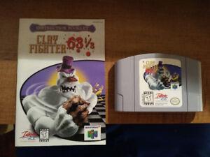 Jeux Nintendo 64 + Console (Golden Eye. Donkey Kong,Etc)