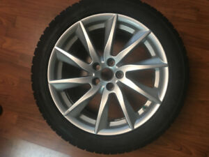 TOYO Winter tires 245/45 R18 4 tires with mags