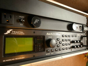 Fractal Axe FX II/2 (full rig available)
