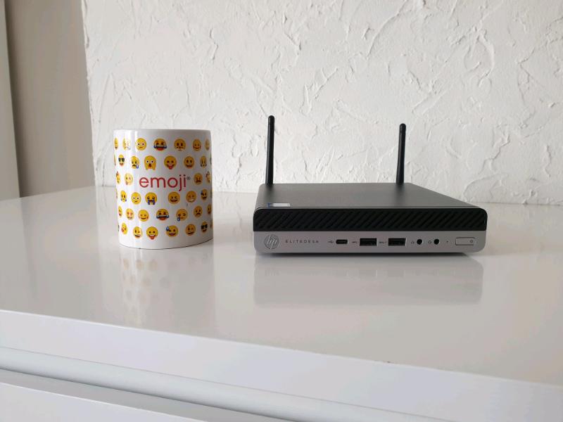 Hp Elitedesk 800 G3, Mini Desktop PC | in Peterborough, Cambridgeshire |  Gumtree