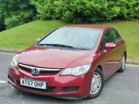 2008 Honda Civic 1.4 i-Dsi ES 4dr IMA CVT Auto *** £10 TAX - HPI CLEAR- 46K MILE