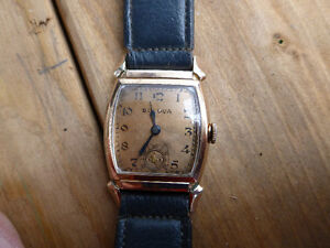 Vintage 1940s Bulova Mechanical Watch London Ontario image 1