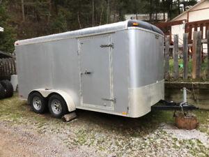 7x14 Continental cargo trailer