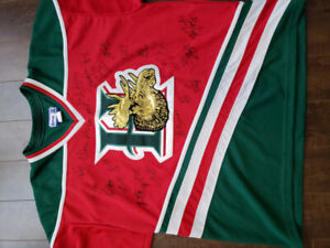 Halifax Mooseheads Autographed team jersey