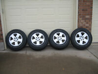 Jeep Wrangler 18 inch Tires and Rims