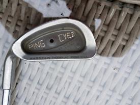 Ping eye2 + No 1 Driving Iron
