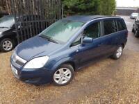 Vauxhall Zafira 1.7CDTi 16v ecoFLEX Design 7 Seater MPV, Mot'd