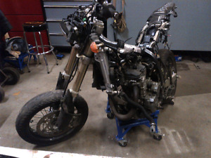 DRZ400 -Parting Out