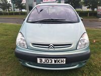 Citroen Picasso MPV in good condition drives very well 1 year MOT