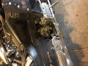 ISO right side chromed engine cover