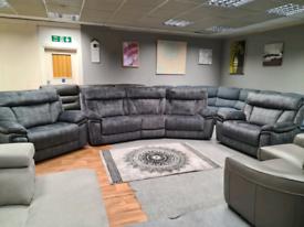 Scs Endurance Nero Sofa Set