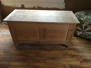 Great wooden chest