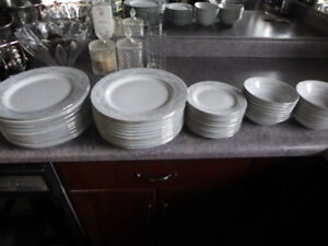 Dinnerware!!! A 51piece set for the everyday