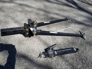 Husky Weight Distribution Hitch and Anti-sway bar