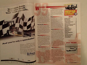 1999 OFFICIAL MOPAR NATIONALS PROGRAM AT NATIONAL TRAIL RACEWAY, Sarnia Sarnia Area image 3
