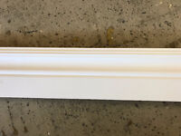 Solid prime white pine moulding starts at $1.00(materials only)