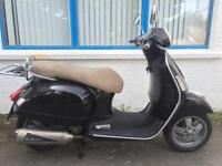 2008 58 PIAGGIO VESPA GTS 250 BLACK, RIDE AWAY TODAY! 300 SH PCX XMAX GTV