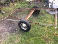 Trailer Chassis 7' x 4'